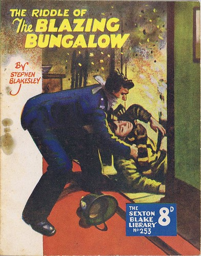 Riddle of the Blazing Bungalow