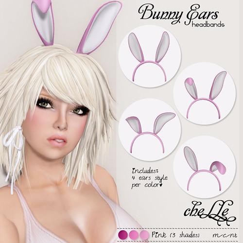 cheLLe - Bunny Ears (Pink)