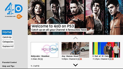 ITV Player And 4oD Are Now Available On PS3 - PlayStation Blog Europe