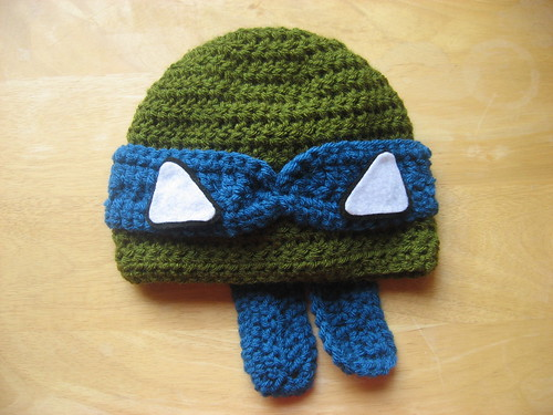 Teenage Mutant Ninja Turtle hat for my nephew