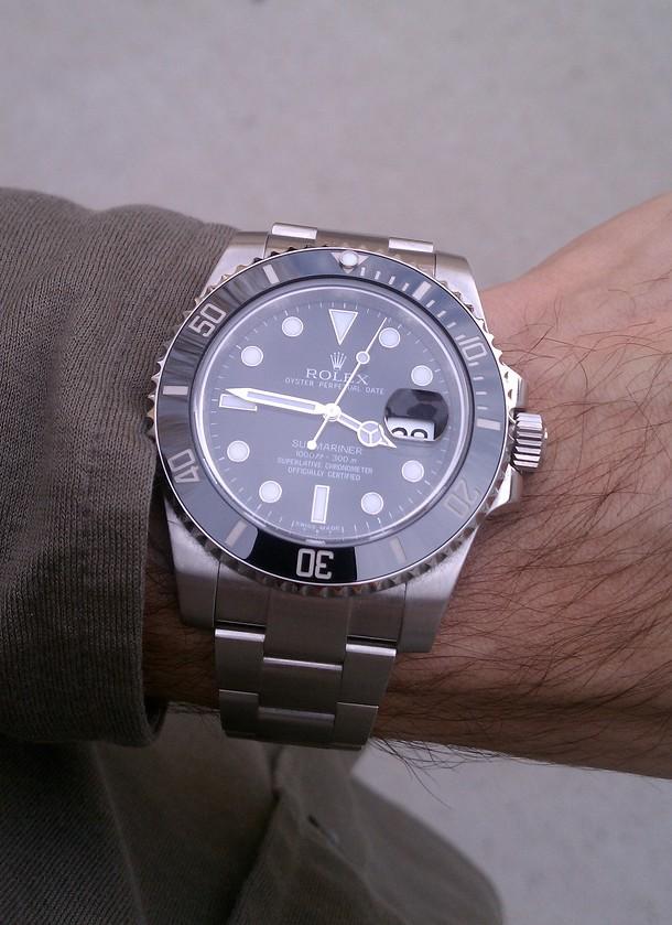 submariner wristshots please