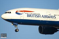 G-YMMJ - 30311 - British Airways - Boeing 777-236ER - 101205 - Heathrow - Steven Gray - IMG_5509