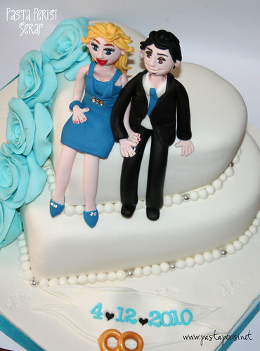 kalpli güllü söz pastası