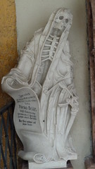Salzburg  St Peter's Abbey And Cemetery (A.Currell) Tags: world alps salzburg heritage abbey cemetery st architecture skeleton skull austria site europe union salt eu unesco momento and baroque peters fortress mori austrian cloaked stift