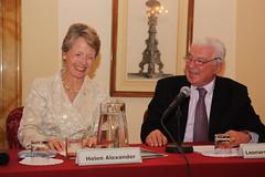Helen Alexander and Leonardo Simonelli