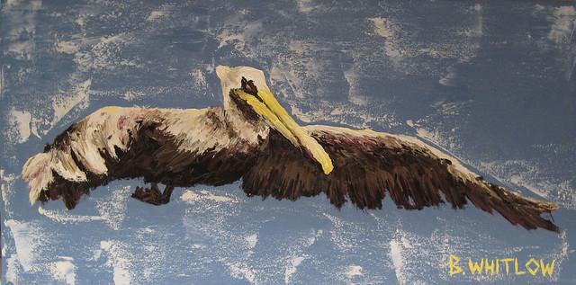 palette knife pelican