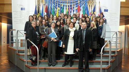 Visite au Parlement européen