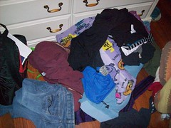 2010/14/12 (jazzijava) Tags: bedroom mess december pants cabinet photos clothes shirts pile drawer messy pjs armoire