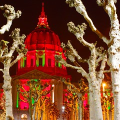 San Francisco City Hall, Christmas 2010
