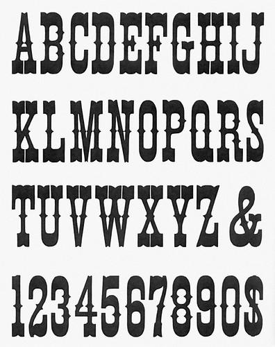 type specimen 2 T web