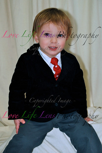 Sophia and Tristan - Holiday Portraits 011