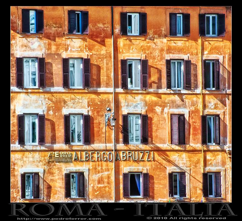 Roma - Albergo Abruzzi