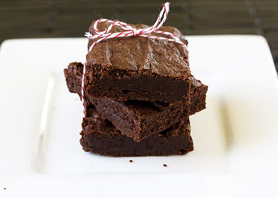 Easy Cocoa Brownies from @handleheat