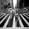 More than Abbey Road (Airicsson) Tags: street new york city nyc summer urban blackandwhite bw usa white ny black rain island lumix us walk manhattan panasonic rainy 2010 streetshot blackwhitephotos lx3