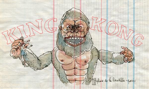 king kong in paris