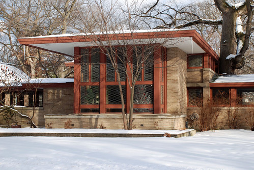 Isabel Roberts House (1908) by Frank Lloyd Wright - ihynz7