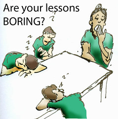 Lessons Boring (Robin Hutton) Tags: school robin work fun high artwork community education cartoon hell australia depression western teaching sketches stress teach department extra lessons cchs robinhuttonart huttonclarkson