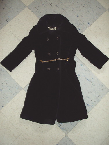 Vintage I.Magnin Faux Fur Coat