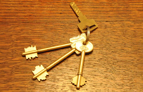The keys to my castle