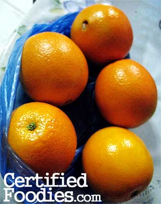 Seedless oranges from Baguio - CertifiedFoodies.com