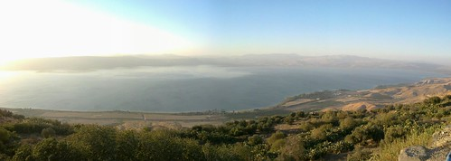 Yam Kinneret, seen from Golan