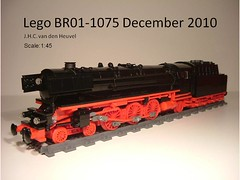 Slide1 (Johan_vd_Heuvel (Teddy)) Tags: city train town lego engine steam locomotive moc 1075 br01 br011075