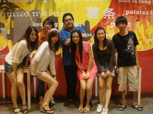 Jia Yeen,Jayren,Shannon Chow,Kian Fai,Chee Li Kee,Lily and Theng Jian