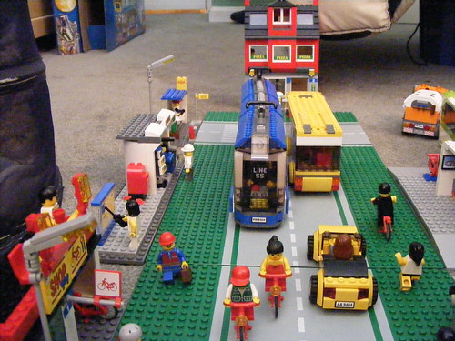Brick Street, Lego City