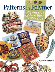 Patterns in Polymer....June, 2011 (julie_picarello) Tags: book julie patterns bead technique accent imprint polymer gane mokume picarello