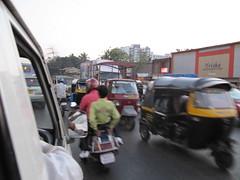 Congested Mumbai Street