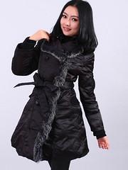 Double-breasted Fur-Decorated Lapel Long Sleeve with Belt Women's CoatMLFG21904-1 (chenguiye001) Tags: belt long with coat womens sleeve lapel doublebreasted furdecorated