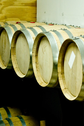 whiskey casks