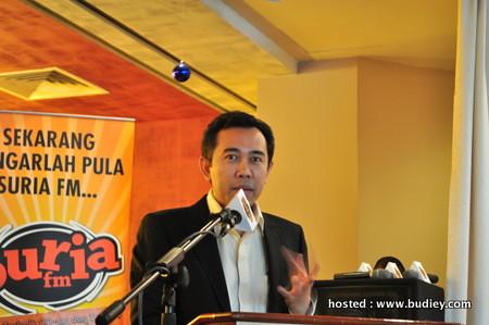 En.Azrullah Md.Nor, COO Suria FM