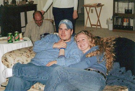 Us @ Chris & Mindy's 2002