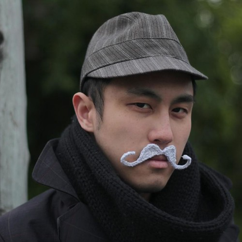 Knitting Project Of The Day Crochet Mustache