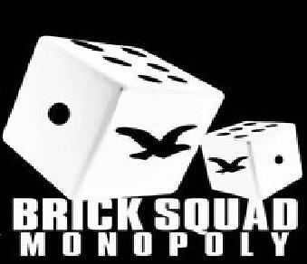Brick Squad Monopoly Logo