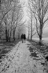A Christmas Walk (Strangelove 1981) Tags: christmas ireland snow cold ice couple orla shannon dougie 2010 coclare 5photosaday clarefrost