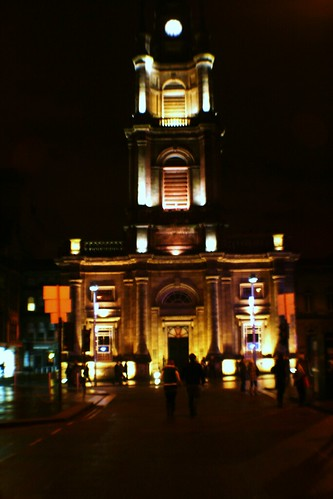 St. George's Tron Church at Night
