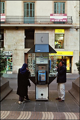 ESP01099 (lightroomphotos) Tags: street las woman man building public spain europe european phone general market telephone cost cities talk systems scene catalonia system spanish payphone pay arab infrastructure shops immigrants costs symbols economic talking economy immigration catalan ramblas telephones companies telecoms telecommunications migrant telifonica