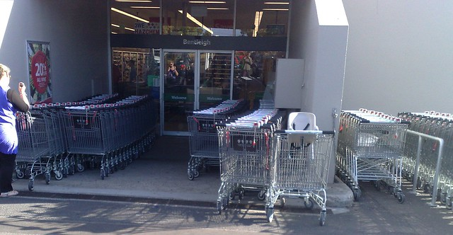 Too many supermarket trolleys?