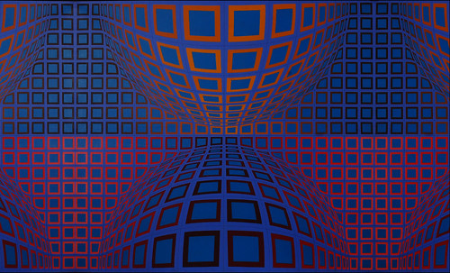 "Victor Vasarely • <a style=""font-size:0.8em;"" href=""http://www.flickr.com/photos/30735181@N00/5323513105/"" target=""_blank"">View on Flickr</a>"