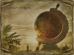 Solar eclipse (Makani_Photography) Tags: art texture photography solar eclipse photo globe antique hdr makani arttex makaniphotography