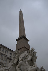 Fontana dei Quattro Fiumi del Bernini (LEO-ONE) Tags: roma del piazza fontana bernini dei navona quattro fiumi