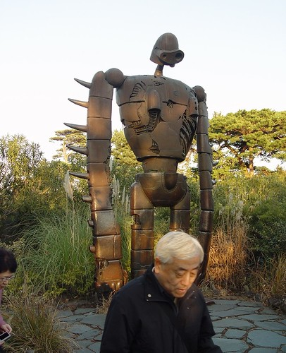 Robot From Castle in the Sky (Laputa) at Ghibli Museum