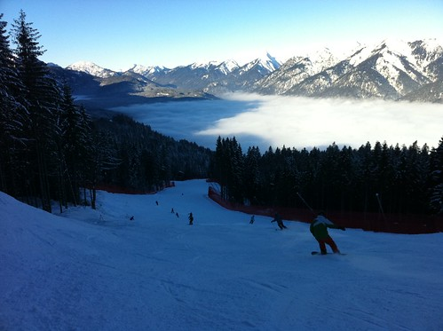 Skigebiet Garmisch Classic