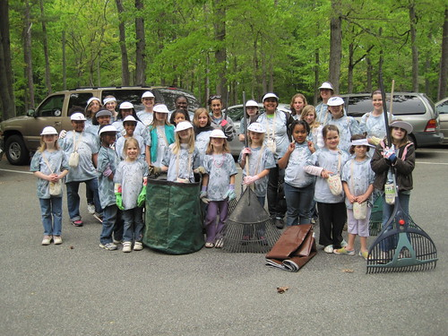 Volunteers at our Virginia State Parks making a difference! All ages welcome