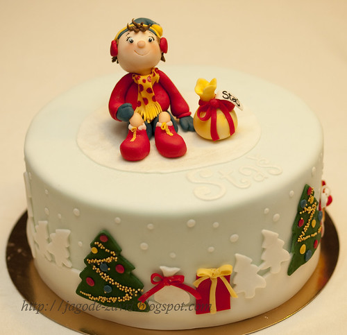 Christmas noddy cake