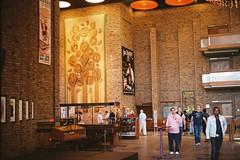 Foyer - tapestry II (IrvineShort) Tags: fuji theatre capetown pro electro baxter yashica rondebosch 800z jackbarnett lesbroers
