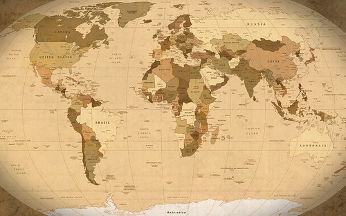 world map desktop wallpaper. World Map Parchment wallpaper