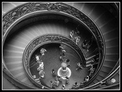 Vatican Staircase (Kazzeroo) Tags: vatican rome roma architecture stairs spiral tag fave staircase vaticanmuseum doublehelix spiralstaircase vaticanmuseums vaticanstaircase